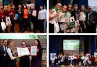 Всеукраїнський молодіжний екологічний Форум «GreenMindGenaration» відкрито перформансом «Маніфест волонтера»